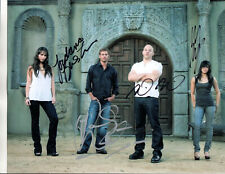 Fast & Furious Movie Stars -=4=- All Hand Signed Autographed Photo With Coa