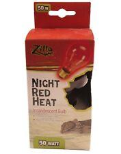 New listing Zilla Night Red Heat 50watt bulb for Reptiles