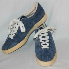 Northeast Mountain Trading Company Mens Size 10 Blue Suede Leather Shoes