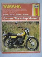 Yamaha Trail Bikes 250, 360 and 400 Owner's Workshop Manual 1971 On