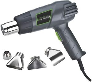 Genesis GHG1500A 12.5 Amp Dual-Temperature Heat Gun Kit with High and Low