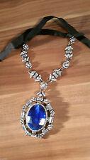 Markenlose Modeschmuck-Halsketten & -Anhänger aus Acrylglas mit Strass