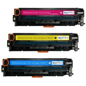 3 C/M/Y Toner Cartridges for HP LaserJet Pro 200 Color MFP M276n & MFP M276nw