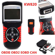 KW820 OBDII 2 EOBD CAN Car Fault Code Reader Scanner Engine Diagnostic Scan Tool