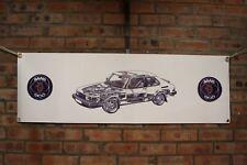 Saab 900 turbo LINE large pvc heavy duty WORK SHOP BANNER garage classic SHOW