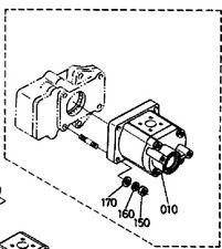New Kubota  KH-191 Hydraulic Pump 6849982140, 68499-82140