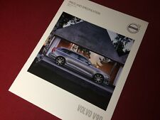 Volvo V90 Price and Specification Brochure 2017 - 2018 MY