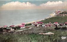 ASNELLES-SUR-MER vue d'ensemble timbrée 1955