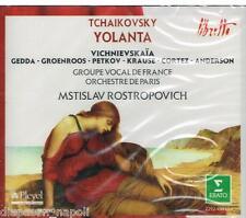 Tchaikovsky: Yolanta / Rostropovich, Vichnievskaia, Gedda, Cortez, Krause - CD