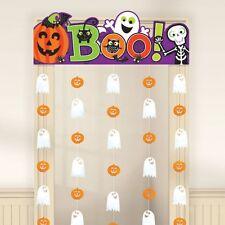 FAMILY FRIENDLY Halloween Rideau de porte - 85 cm x 1.65m- Spooky Party Décorations