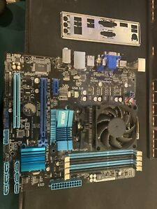 AMD FX 8300 8 Core CPU & ASUS AM3+ Motherboard Bundle with cooler gaming fast