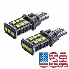 US 2Pcs T15 T10 T13 Backup Reverse LED Light Bulb for 2012-2016 Hyundai Veloster