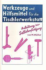 Holzhammer, Schneidlade, Werkzeuge & die Hilfsmittel für die Tischlerwerkstatt