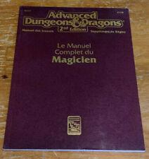 Dungeons & Dragons 2 2e 2nd - Le Manuel Complet du Magicien (1994 print) (Ex)