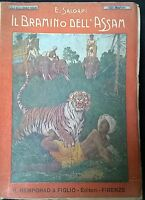 Il Bramino dell'Assam - Emilio Salgari -  R. Bemporad & Figlio,  1921 - L