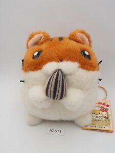 "Hamster Club Animal A2611 Plush 5"" TAG Stuffed Toy Doll Japan"