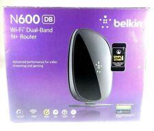 Belkin N600 DB 300 Mbps Wi-Fi N+ Router Dual Band F9K1102