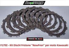 "F1792 - KIT DISCHI FRIZIONE ""NewFren"" per Kawasaki Z 750 dal 2007 al 2011"