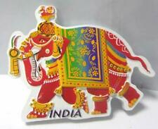 Souvenir Elephant Red Fridge Magnet Polyresin Refrigerator Decor