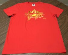 Adidas Espana Spain 2010 World Cup South Africa T-Shirt Red Size XL Extra Large