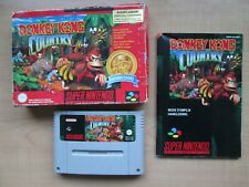 Super Nintendo - SNES - Donkey Kong Country - Boxed - Manual included