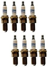 Set Of 8 Spark Plugs Pre-Gapped .035 AcDelco For Dodge Caddy Bentley Jeep V8