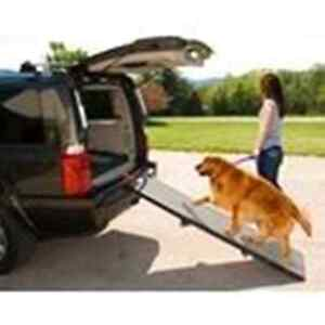 Pet Gear Full Length Tri-Fold Pet Ramp Portable Quick & Easy Set Up Compact