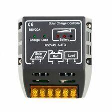 20A 12V/24V Solar Charge Controller Solar Panel Battery Regulator