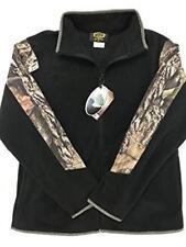Yukon Gear Fleece Jacket, Mossy Oak, L, New