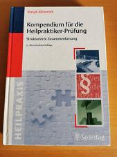Kompendium für die Heilpraktiker-Prüfung - Zusammenfassung - Margit Allmeroth