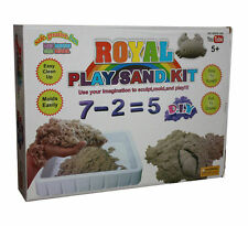 Nouveau enfant/kids easy play & clean sand kit sculpter mold & play cadeau jouet uk stock