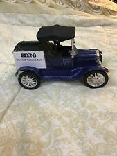 Blue Ball National Bank 1918 Model T Ford Bank Runabout by Ertl 1:25 Scale
