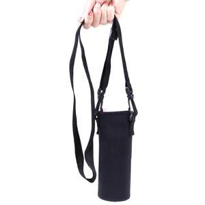 420ml-1500ml Water Bottle Carrier Insulated Cover Bag Holder Strap Travel Cover