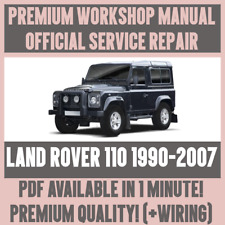 *WORKSHOP MANUAL SERVICE & REPAIR GUIDE for LAND ROVER 110 1990-2007 +WIRING