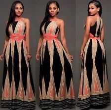 US NEW Women's Fashion Summer Sundress Maxi Boho Beach Cocktail Party Long Dress