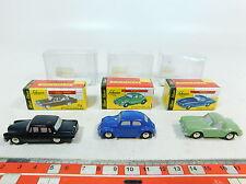 ax780-0, 5 #3X Schuco Piccolo 1:90 Model: 01261 VW 712+ 01241/01251 MB, NIP
