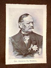 Deputato del 1° Parlamento d'Italia del 1848 Generale Giuseppe Da Bormida