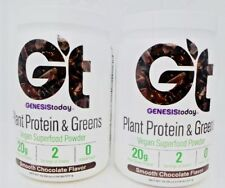 Genesis today Plant Protein & Greens Vegan Superfood-Chocolate Smoothie - 2 Each