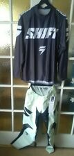 Shift Whit3 Label Muse Motocross Enduro Basalt/Smoke 30/Med Kit Combo