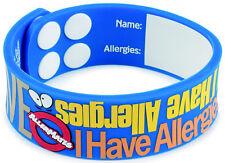 "Allermates ""I Have Allergies"" Writable Wristband Medical ID Bracelet - 41092"