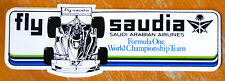 Fly Saudia Formula One World Championship equipo Carrera Motorsport ETIQUETA / ETIQUETA
