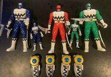 Power Rangers LOST GALAXY 1999 Flip Head Action Figures + Morphers
