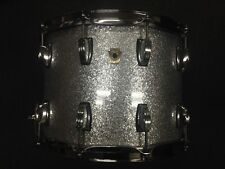 Ludwig 10x14 Classic Maple Snare Drum in Silver Sparkle