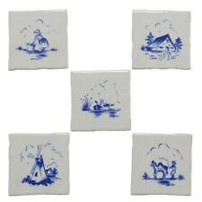 Mosaik Einleger Jasba 9R21 H Delft weiss blau 5er Set 10 x 10 cm  Küchenmotive