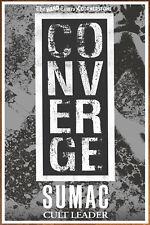 CONVERGE | SUMAC 2018 Tour Ltd Ed RARE Poster +FREE Metal Poster! The Dusk In Us