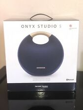 Harmon Kardon Onyx Studio 5 Bluetooth Speaker - Blue