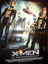 X-MEN le commencement  ! affiche cinema  x men comics bd marvel
