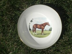 1974 - Kentucky Derby Richard Stone Reeves Wedgewood Bowl in Excellent Condition