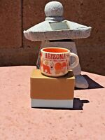 NEW Starbucks BEEN THERE SERIES Ornament ARIZONA 2oz Mini Mug...V1