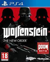 Jeu Wolfenstein - The New Order / PlayStation 4 PS4 Version Française Intégrale